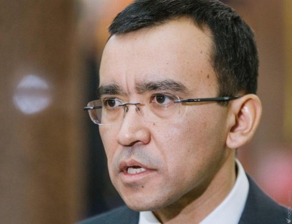Маулен Ашимбаев назначен первым зампредом партии «Нур Отан»
