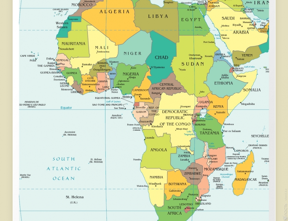 Спорные страны в африке