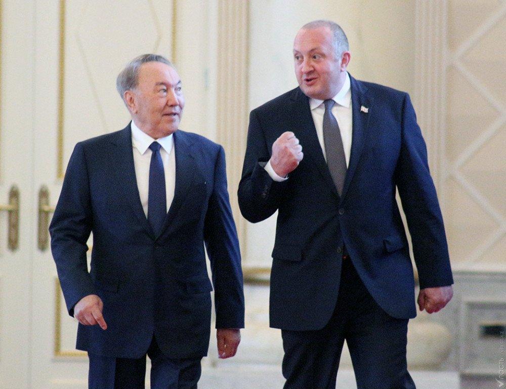 Назарбаев: выход вЕвропу через Грузию весьма важен