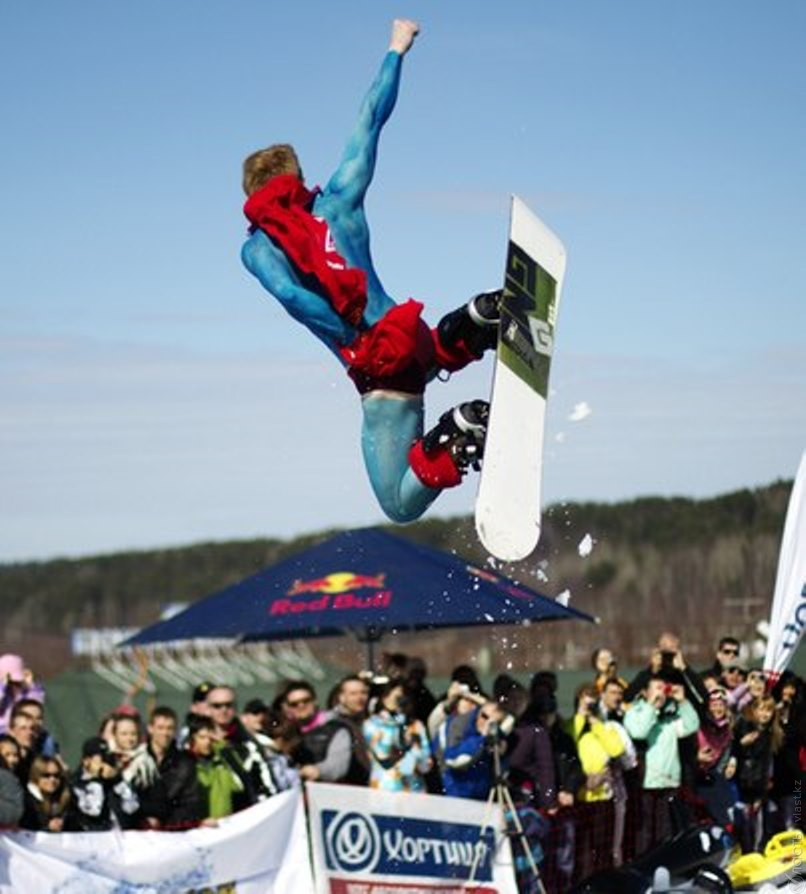 Шоу Red Bull Jump and Freeze
