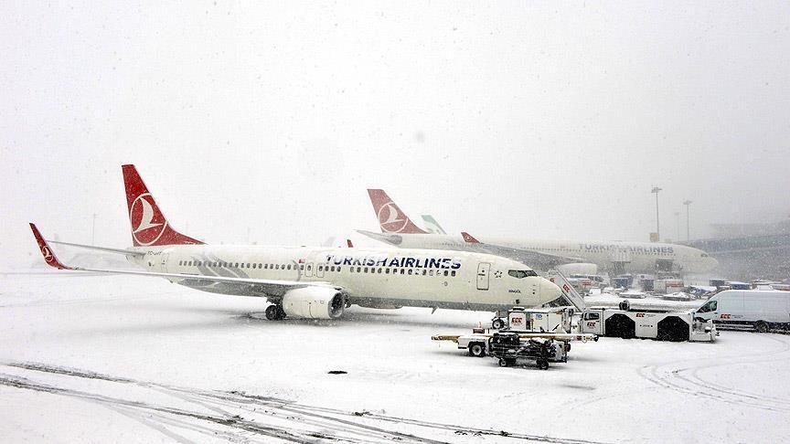 Сотни пассажиров ожидают вылета изСтамбула вКазахстан