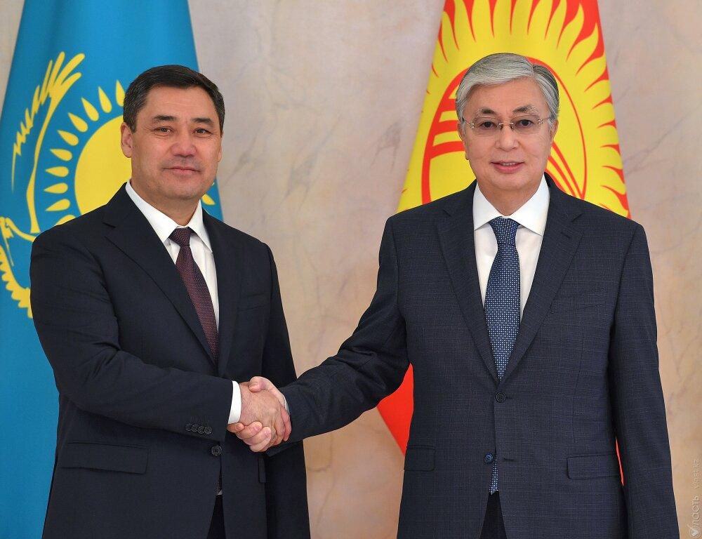 Токаев и Жапаров обсудили взаимодействие по линии Евразийской интеграции