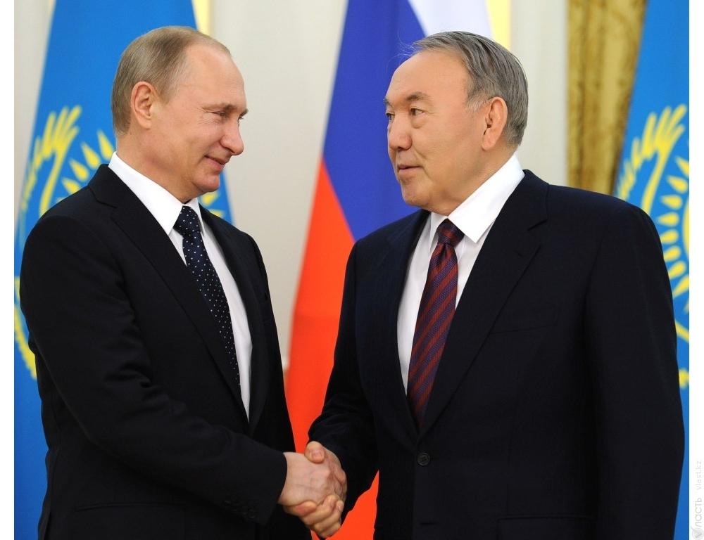 Путин иНазарбаев проведут переговоры вСочи