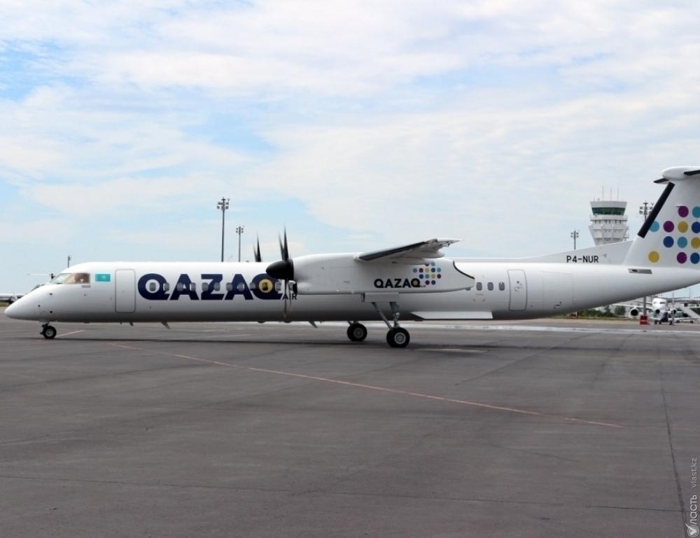 Экипаж схваченного рейса Qazaq Air отстранен отполетов