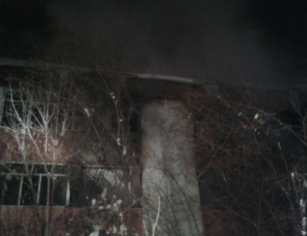 5 человек пострадали впожаре вдетском доме вАлматы