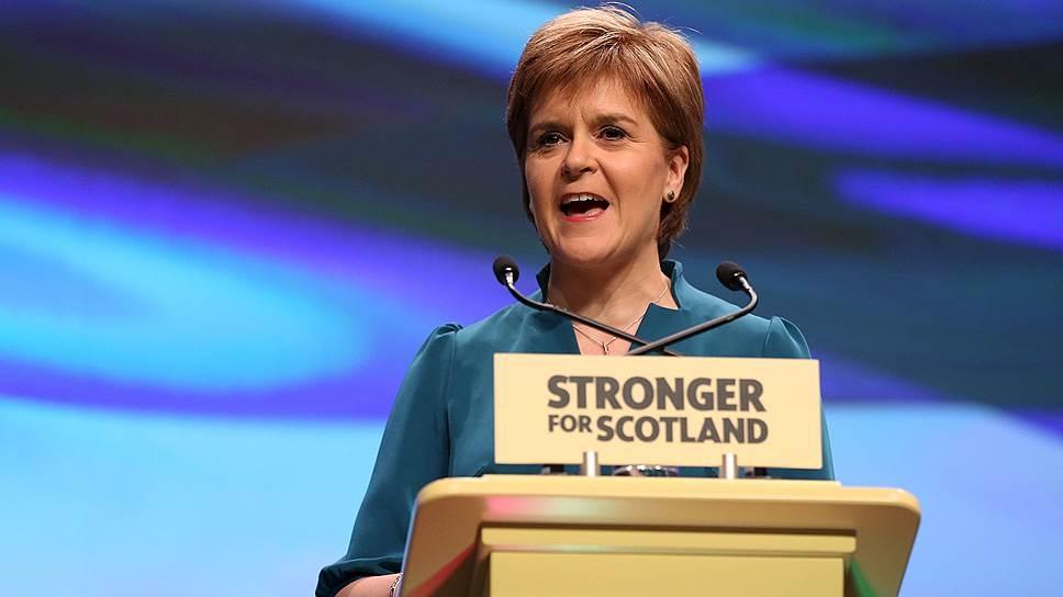 1-ый министр Шотландии обещает собственной стране независимость