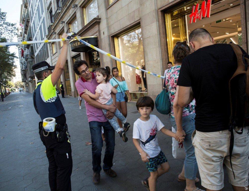 Что известно отеракте вБарселоне посостоянию на23.00
