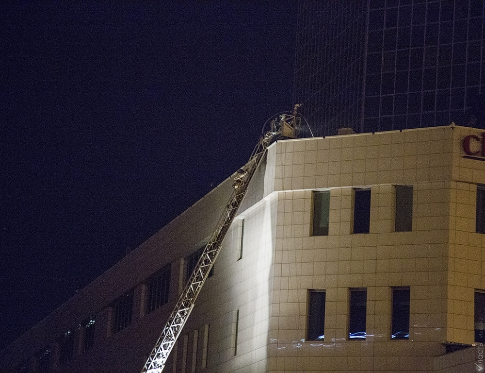 Милиция установила личности погибших впожаре в«Алматы Тауэрс»
