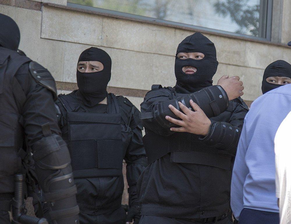 Детали  специализированной операции  вАлматы передала  милиция