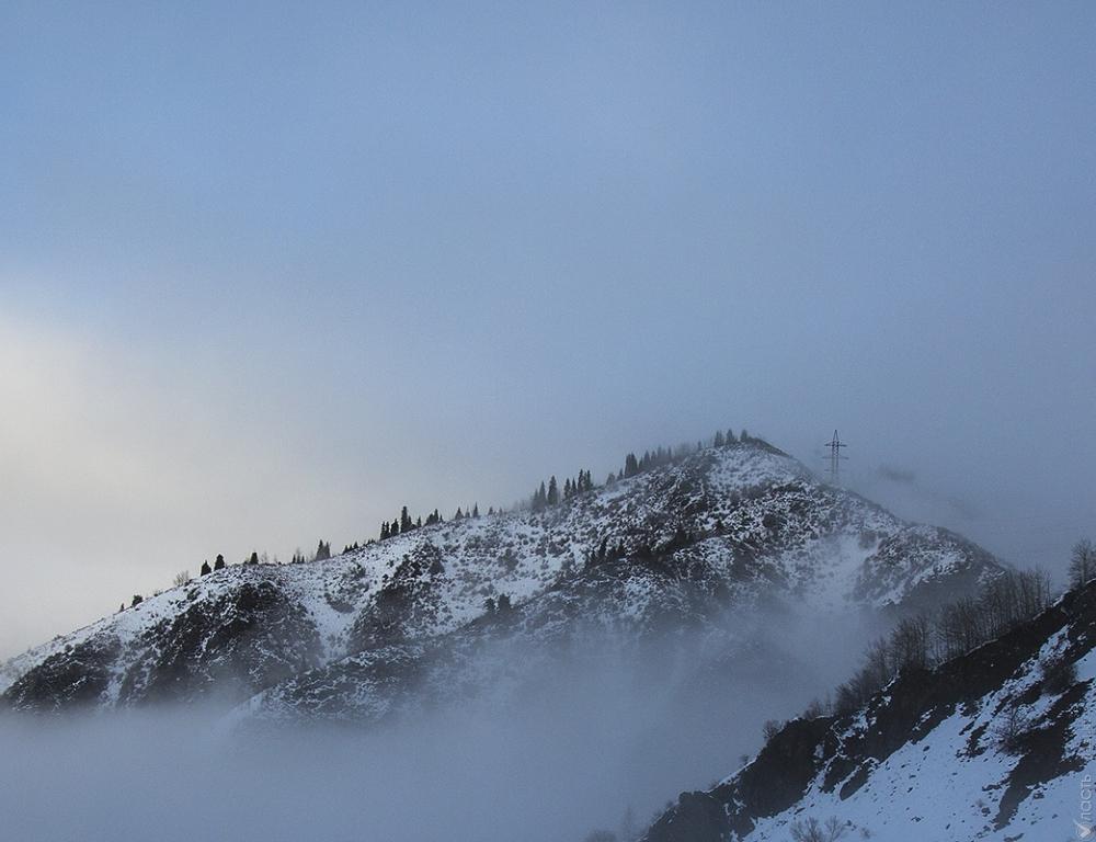 Вгорах Алматы реален сход лавин