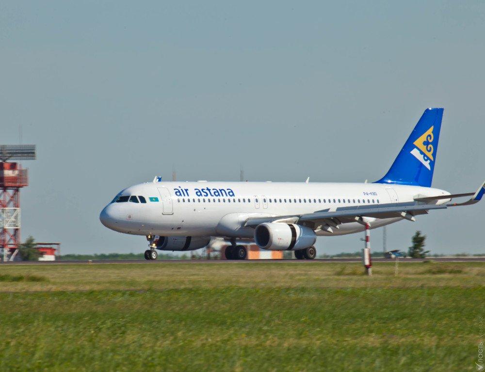 Самолет «Эйр Астаны» вернулся ваэропорт вылета после «сбоя»