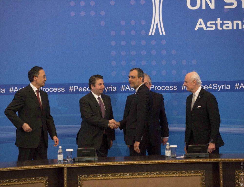 Названа дата проведения нового раунда переговоров поСирии вАстане
