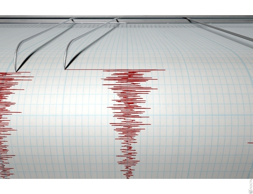 Наюге Казахстана случилось землетрясение