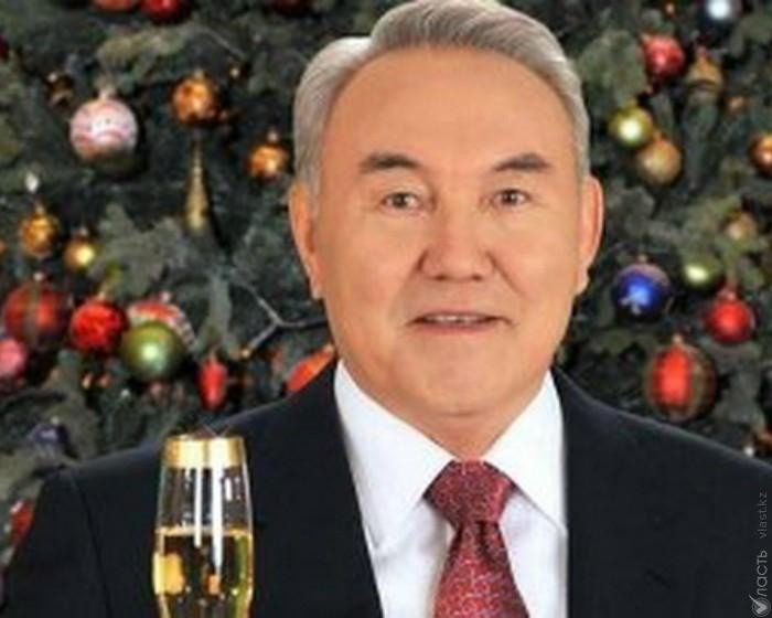 гортензии поздравление назарбаева с новым годом будем готовить
