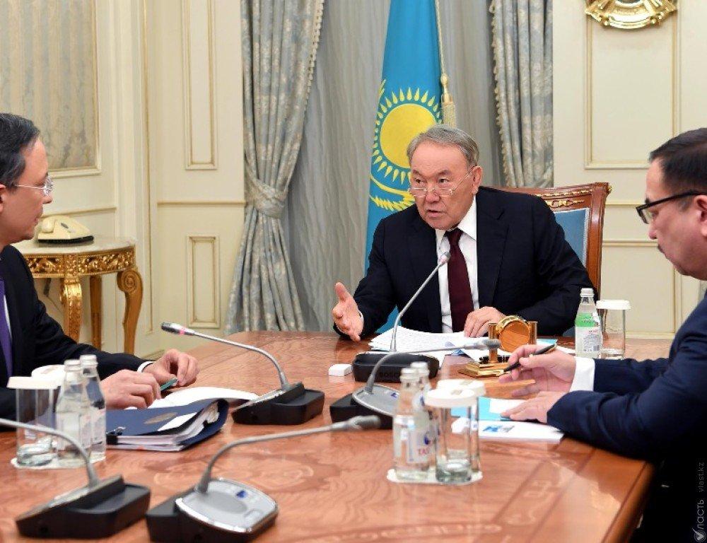 Назарбаев встретился с главой МИД