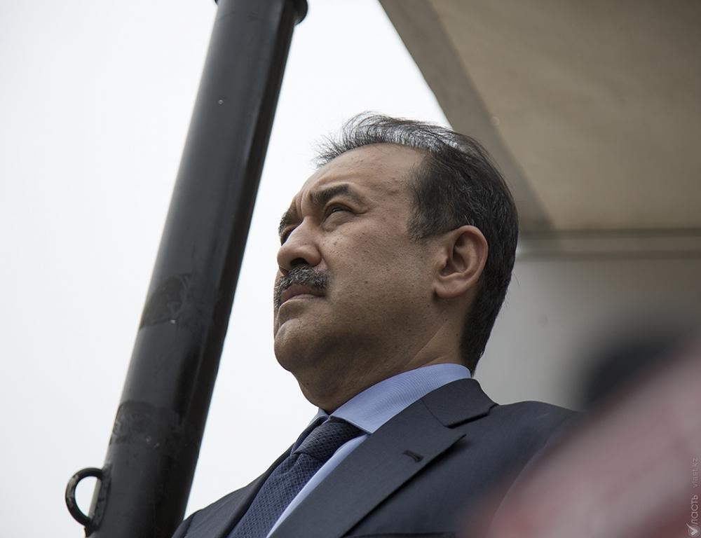 ВКазахстане предполагается отставка руководителя правительства