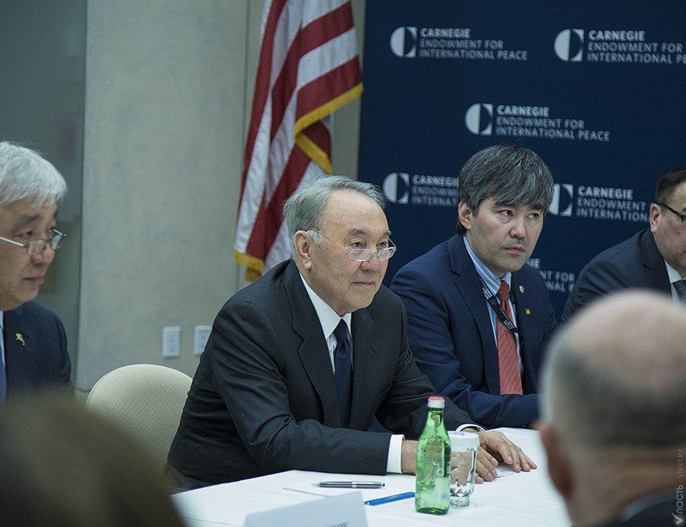 Назарбаев представил новых членов Совета иностранных инвесторов