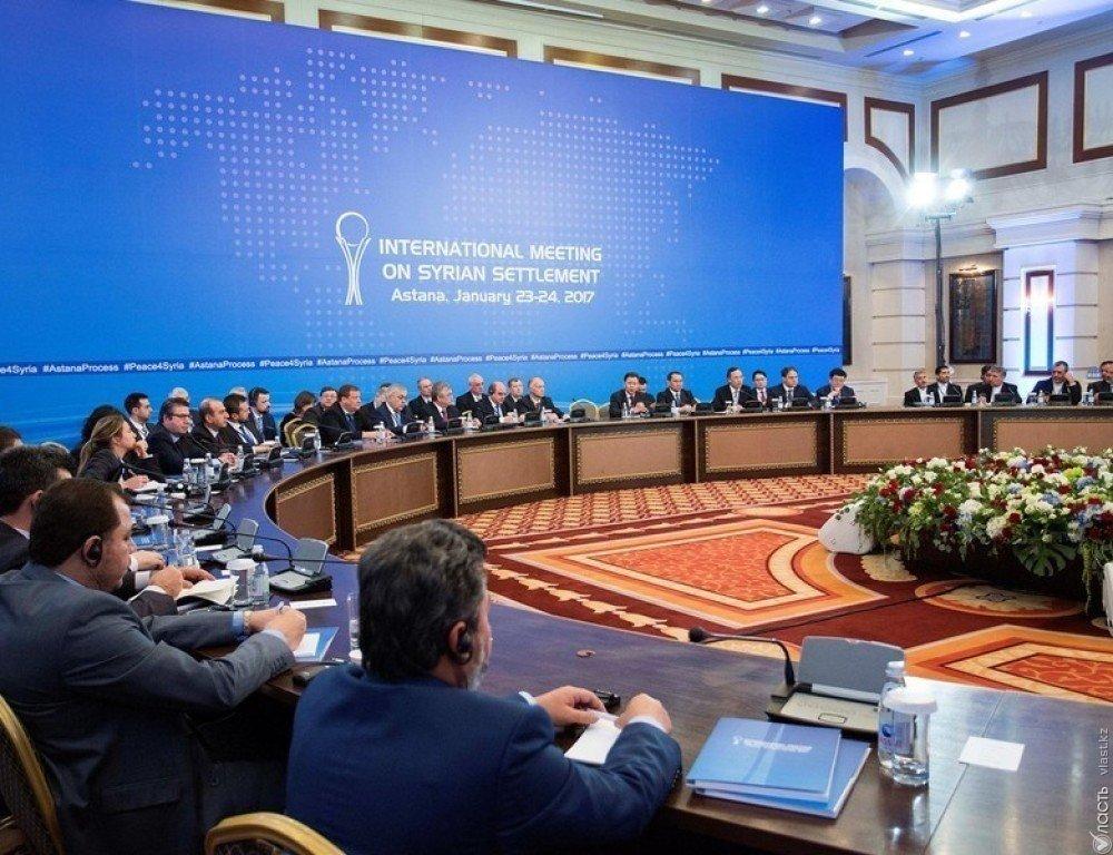 Встреча поСирии вАстане запланирована на4— МИД РФ