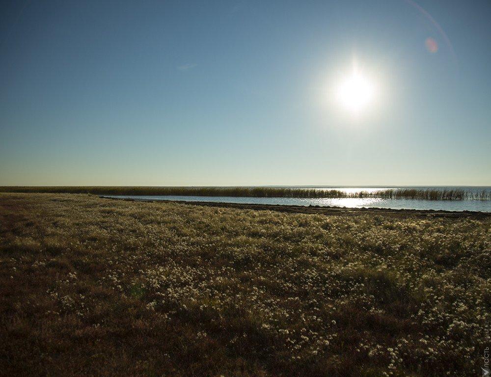 Вселе под Астаной из-за угрозы прорыва плотины объявленаЧС
