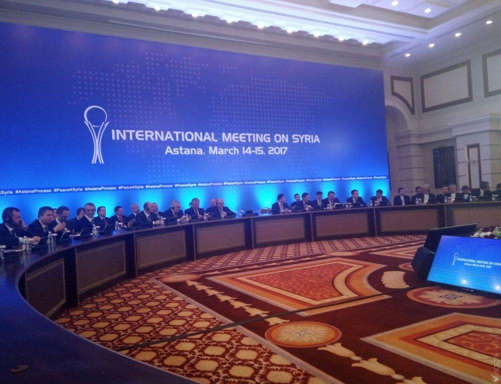 Встреча наэкспертном уровне поСирии вАстане состоится 2мая