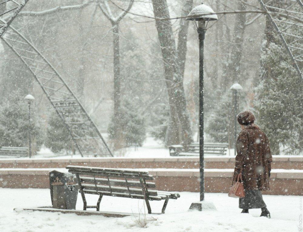 Погода натри дня: морозы сохранятся вКазахстане