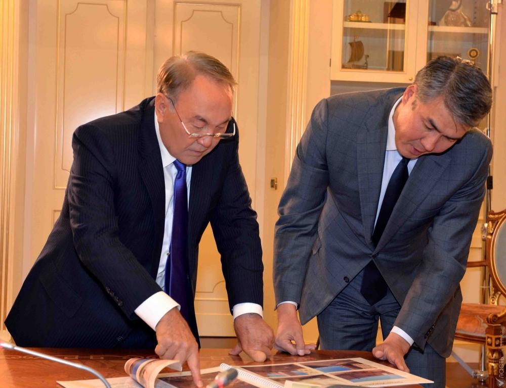 Исекешев оповестил Назарбаеву оработе поочистке Талдыколя