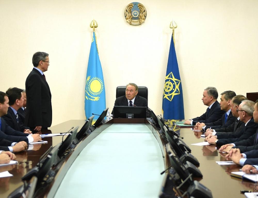 Владимир Жумаканов назначен ассистентом Президента— секретарем Совета безопасностиРК