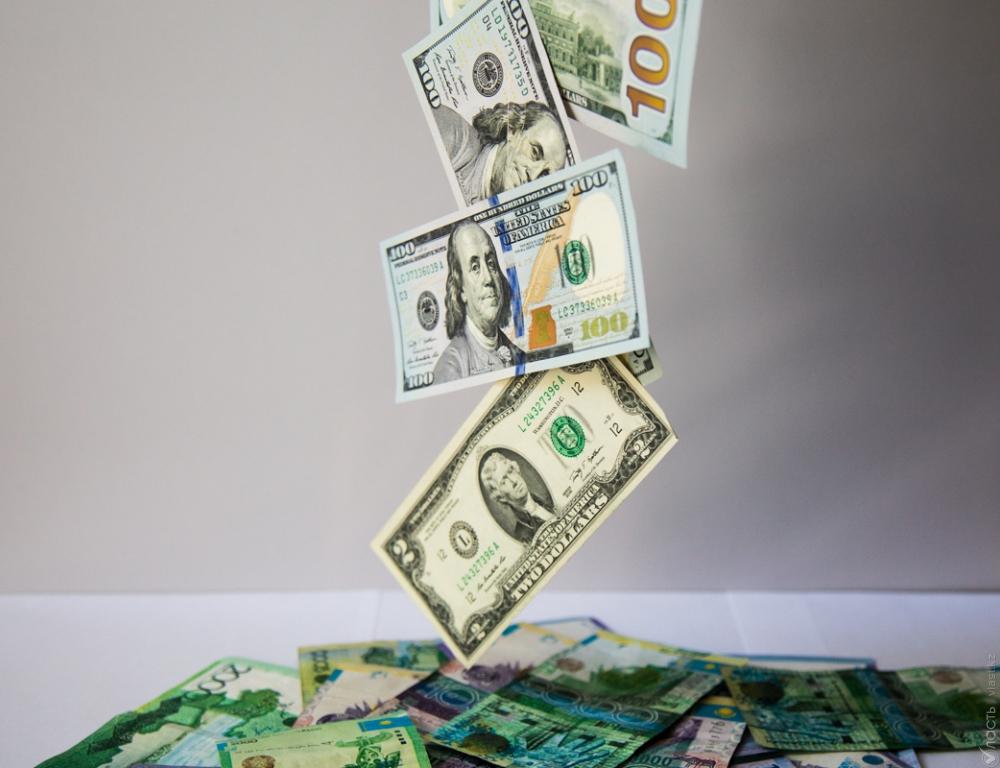 Средневзвешенный курс доллара в ходе вечерней сессии KASE составил 197,05 тенге