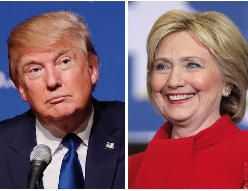 Хиллари Клинтон опережает Дональда Трампа всреднем на5 п.п— NBC