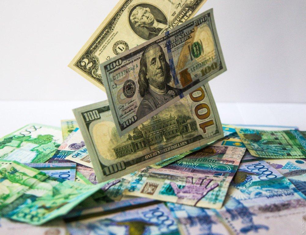 Курс нацвалюты наторгах KASE повысился до319,45 тенге за $1