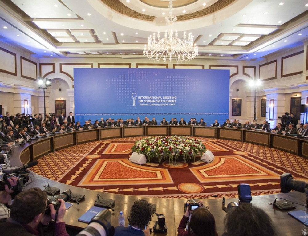 Следующая встреча поСирии пройдет вАстане вконце декабря